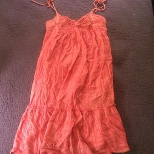 Urban Outfitters Pink & Gold Dress